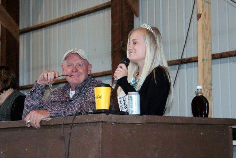 Tommie Loken, Iowa County Fairest of the Fair, Mineral Point 2017 graduate.