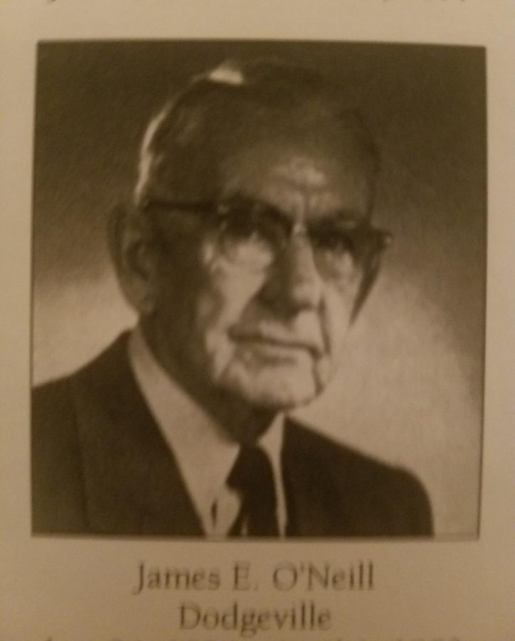 Judge James O'Neill-Class of 1896