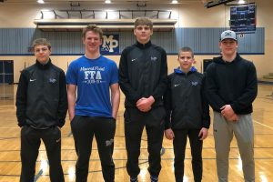 Wrestlers Take 3rd at Regionals Advancing Five Wrestlers