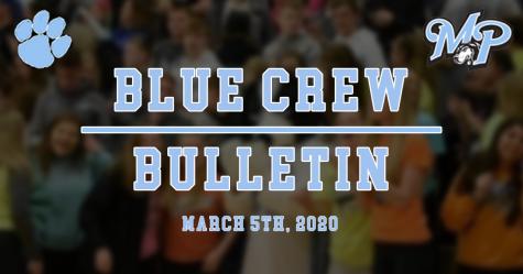 Blue Crew Bulletin - Basketball Playoffs in Full Swing!