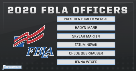 2020 FBLA Officers