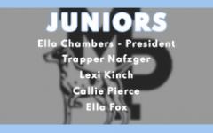 2020-21 Junior Class Officers