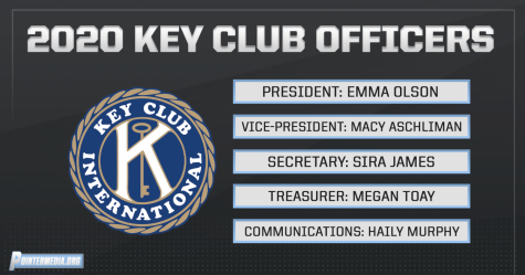 2020 Key Club Officers