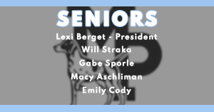 2020-21 Senior Class Officers