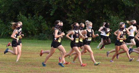 Girls XC Win Boscobel Quadrangular Boys Second