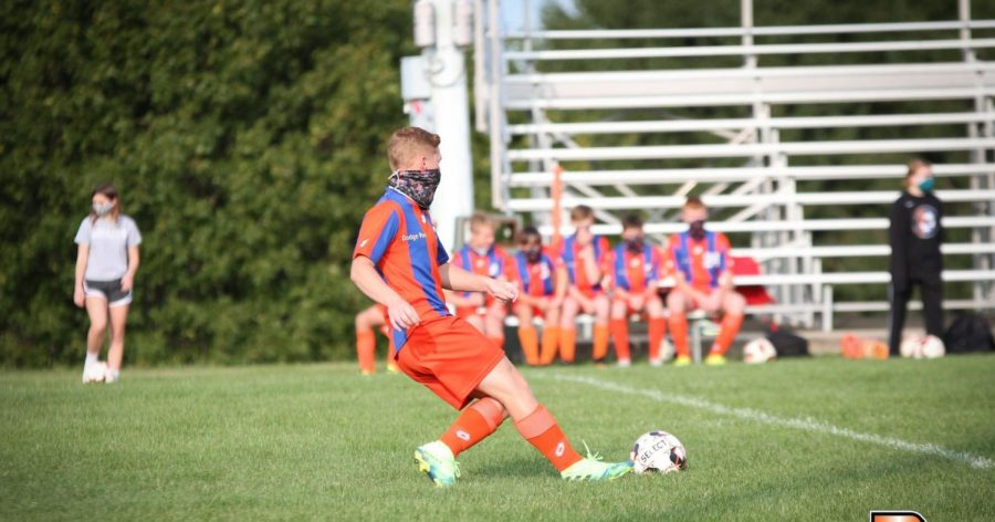 Dodge-Point Soccer Ends Season With a 1-3 Loss