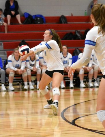 Pointer Volleyball Victorious Against the Southwestern Wildcats
