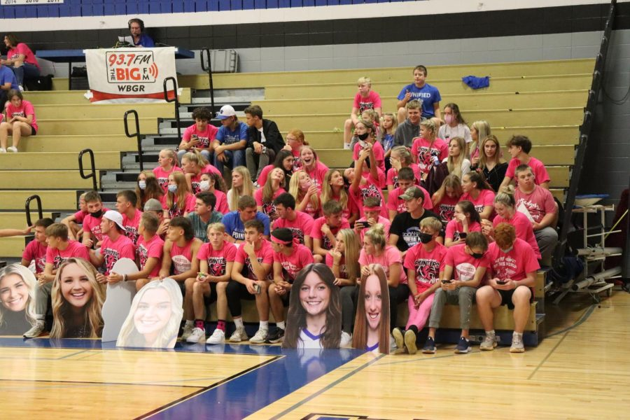 Pointer Volleyball Holds Their Annual Pink Night Cancer Awareness Fundraiser